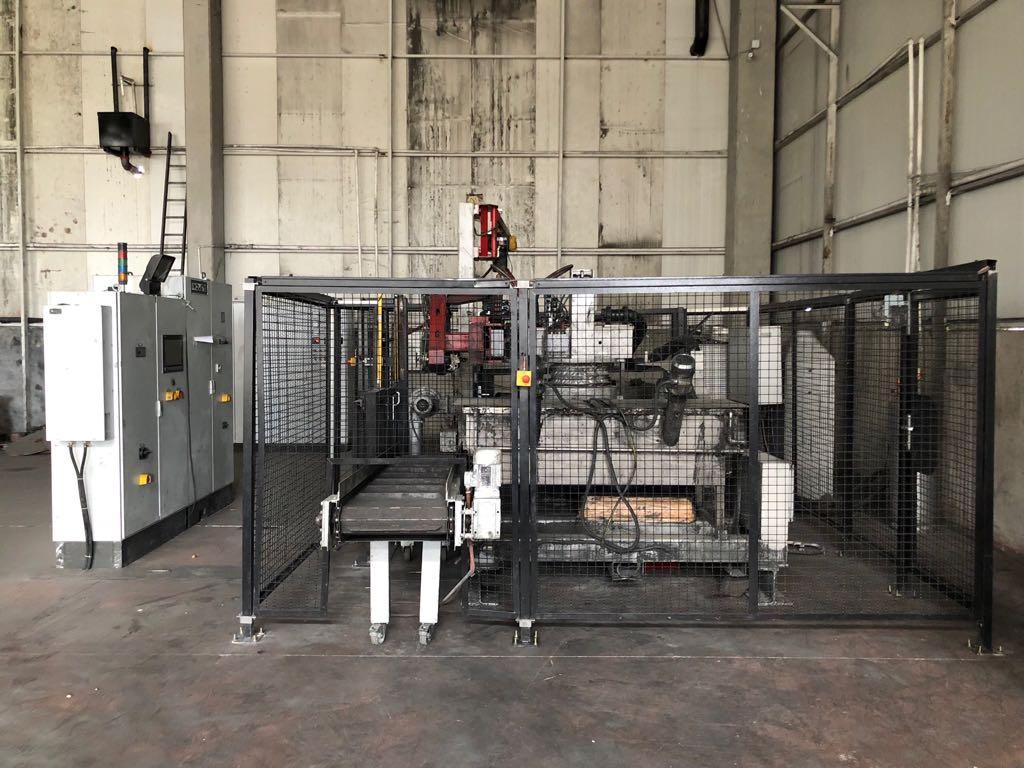 Induga LPDC 1001 Low Pressure Die Casting Machine - Dimas